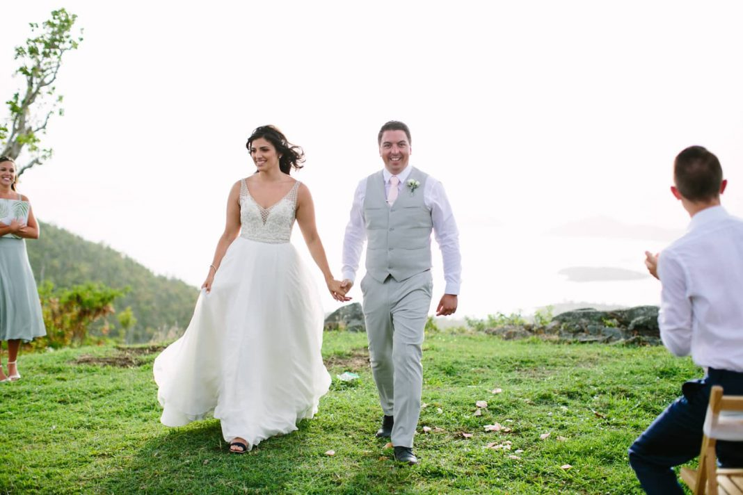 Destination Wedding in St. John USVI Historic Venue