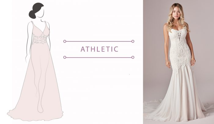 Wedding Dress Guide for Athletic brides
