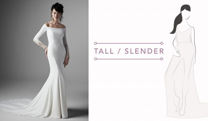 Wedding Dress Guide for Tall/Slender brides