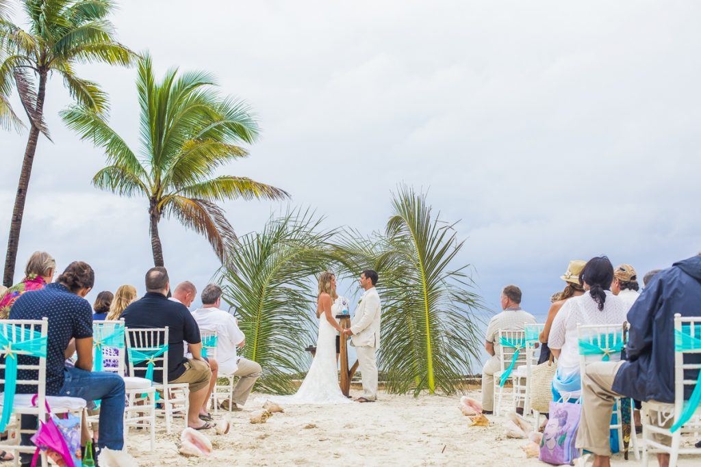kayla logan beach wedding puerto aventuras mexico 01 23 1024x683 - 6 Reasons Why Your Tulum Wedding Should Be At A Private Villa Not An All-Inclusive Resort
