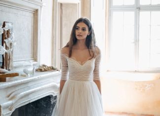 Divine Atelier Ambra dress f  - Divine Atelier: Modern, Contemporary, Bohemian Bridal Fashion