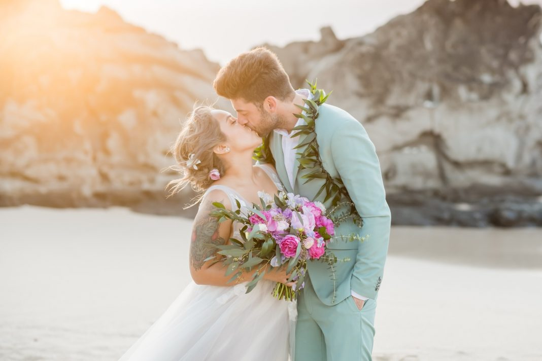 Intimate Destination Wedding in Maui with Traditional Hawaiian Ceremony