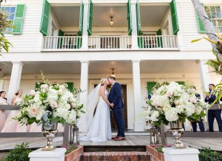 Two Historic Venues - One Beautiful Destination Wedding in Key West