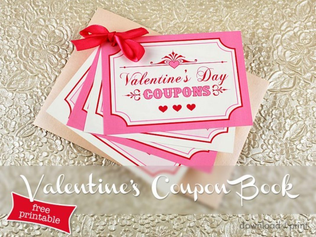 FREE Valentines Download - Valentines Coupon Book