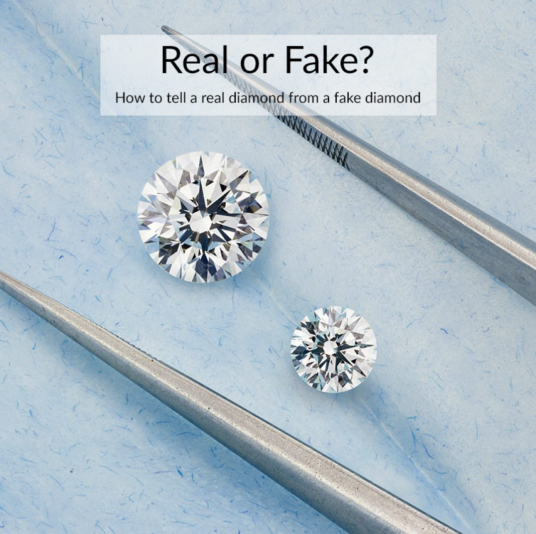 How to Tell a Fake Diamond from a Real Diamond