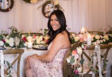 A Rustic Chic Bridal Shower in Bakersfield - TrueBlu | Bridesmaid Resource for Bridal Shower and Bachelorette Party Ideas