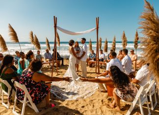 Irene & Jose's Puerto Rico vow renewal at the Ruins