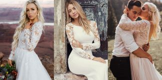 Collection of Long sleeved wedding dresses