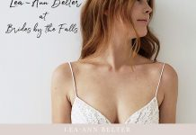 Thanksgiving Weekend Trunk Show   Brides by the Falls
