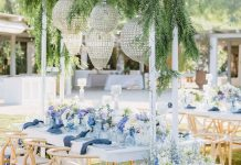 Colorfully Chic Athens Wedding Inspired by The Grand Budapest Hotel ⋆ Ruffled