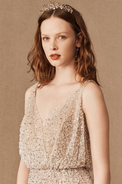 Sequin Bridal Gown from BHLDN