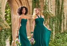 Camille La Vie Introducing Emerald Green Bridesmaids