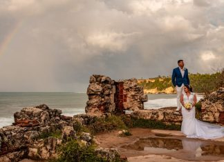 Clarissa & Walter's Elopement at The Ruins in Aguadilla