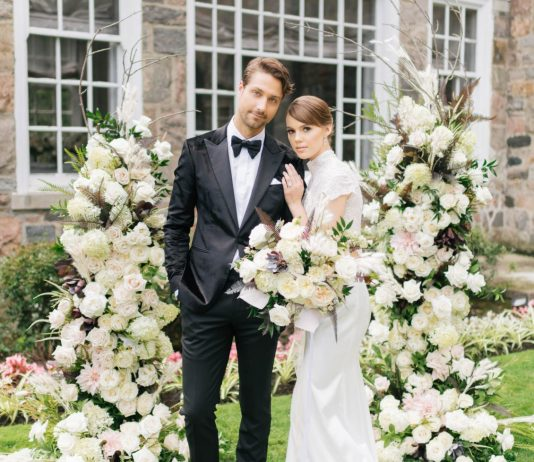 Dinner with Mr. Darcy - WedLuxe Magazine