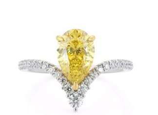 Does yellow moissanite exist? I found a shop claiming to have a yellow moissanite ring... : EngagementRings