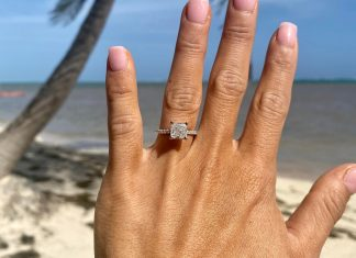 Happiest day of my life!!! My fiancé took me on a surprise trip and popped the question yesterday!