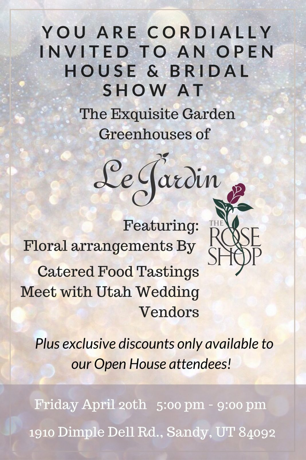 Le Jardin Open House — Carrie's Cakes by Alessandra