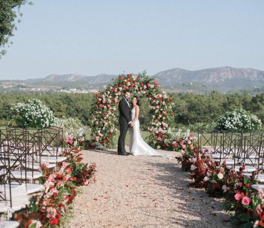 This Luxurious Jewel Tone Wedding Will Make You Come To The Dark Side