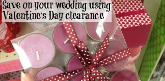 Save On Your Wedding Using Valentine's Day Clearance