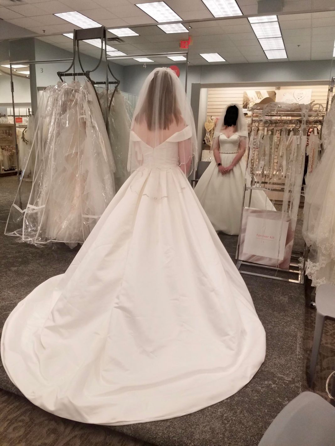I said yes to the dress this past weekend! I feel like a Disney Princess!