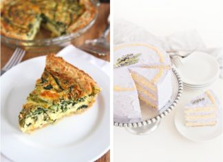 Spring Shower Menus (Perfect for Baby or Bridal Showers)