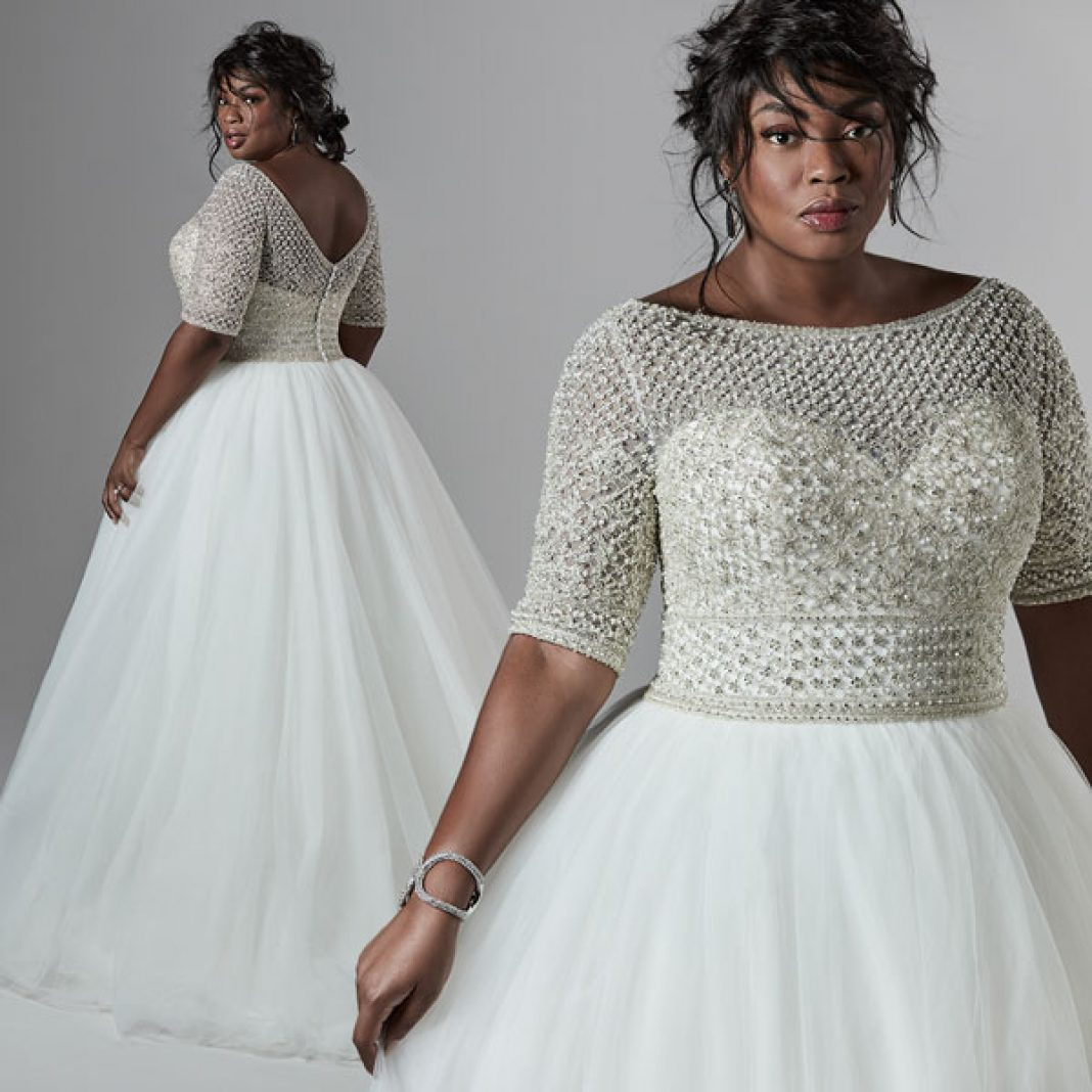 A Vintage Inspired Ball Gown Wedding Dress