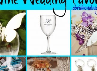 Wine Wedding Favors   A Bride On A Budget