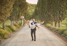 For The Love of Italy: A Berta Bride & Her Glamorous & Intimate Italian Vow Renewal