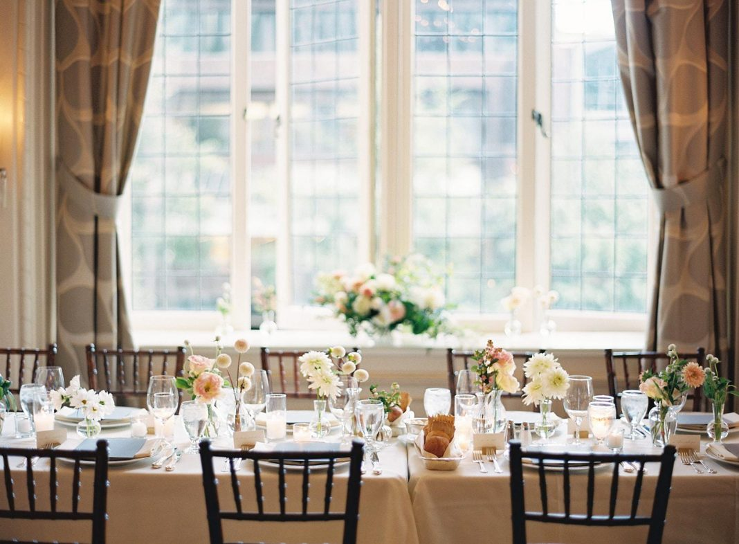 Here's How You Bring A Light And Airy Aesthetic To An Indoor Wedding