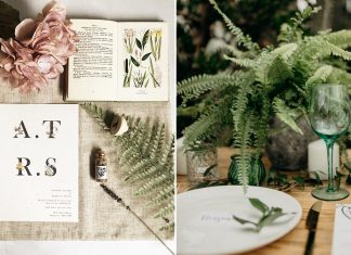MOODBOARD: LUSH AND LEAFY BOTANICAL STYLING