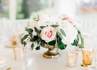 Romantic Elegant Wedding Packed with Blush Spring Details