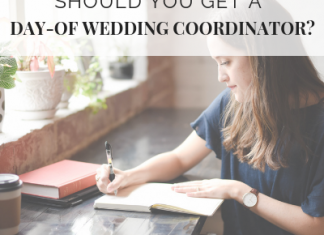 Should You Get a Day-of Wedding Coordinator? – Wedding Shoppe