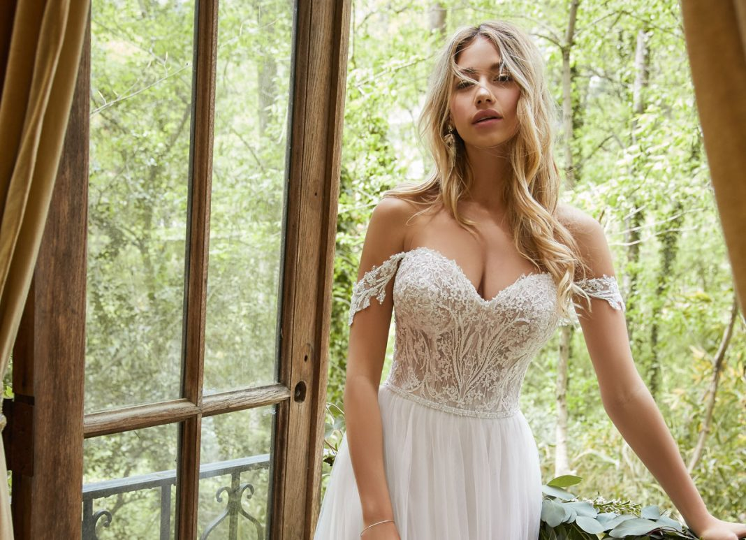 A Light, Airy, & Romantic Gown