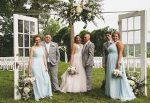 A Perfect Wedding Over Looking the Ohio River