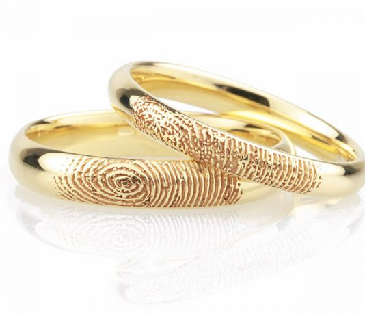 Fingerprint Wedding Rings - Unique Fingerprint Rings in 5 Easy Steps