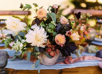 Moving To Autumn & Winter Weddings: Seasonal Wedding Flowers Advice From our Little Book Member, Blue Sky Flowers