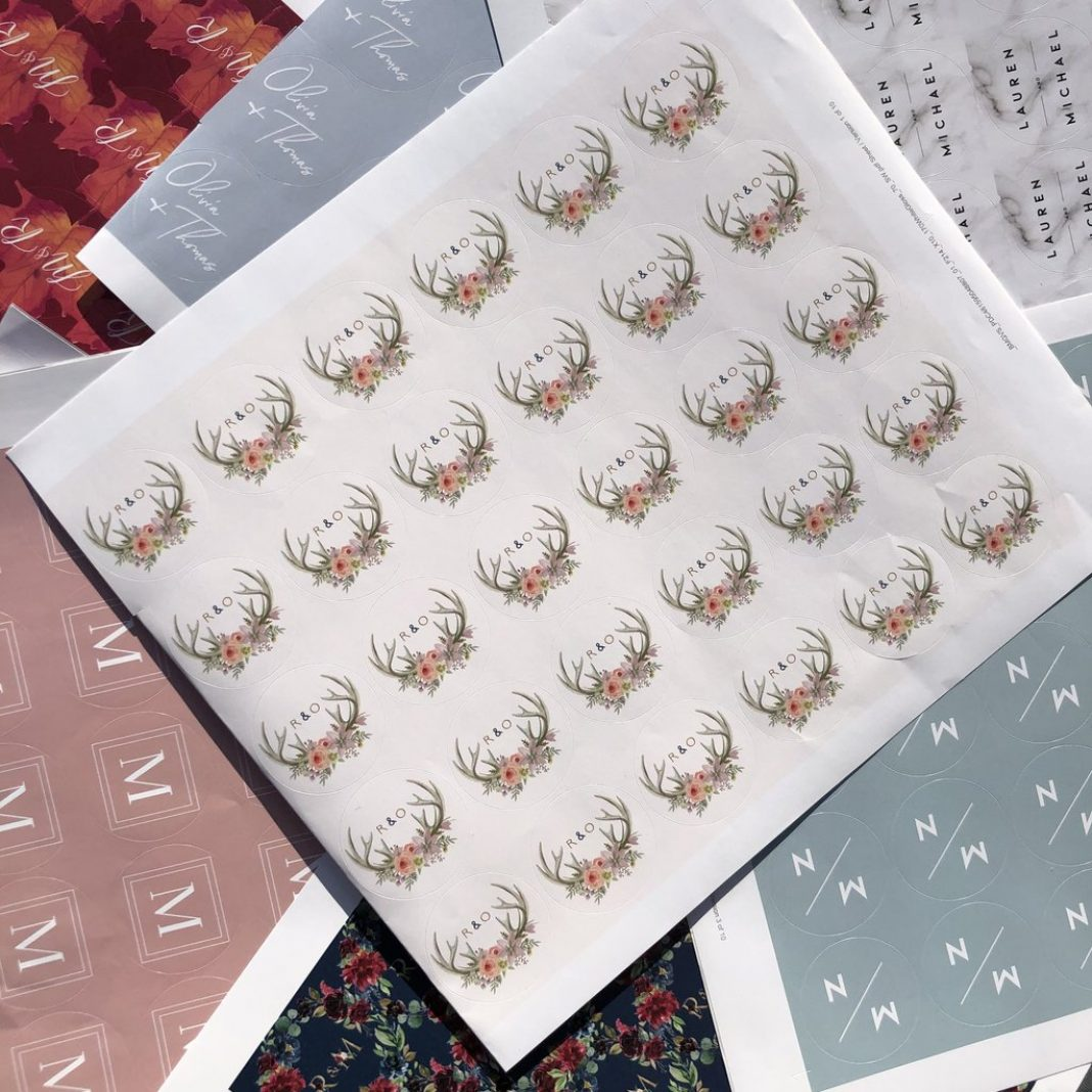 Envelope Stickers now available!