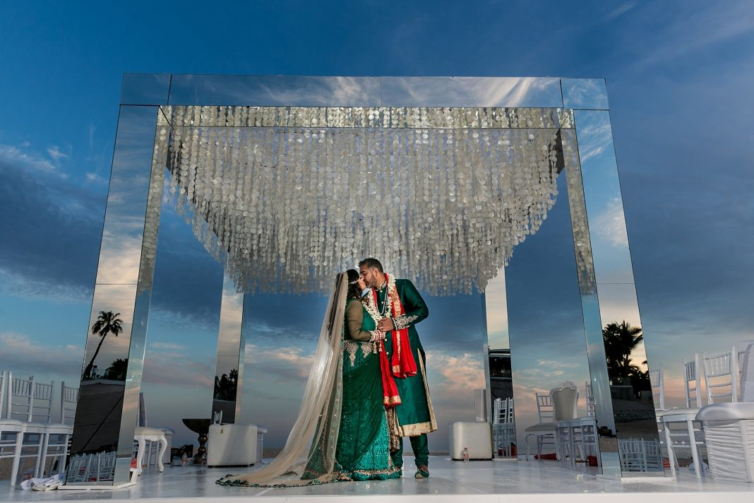 A Luxurious Indian Destination Wedding in Cabo