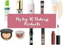My Top 10 Makeup Products - Treast