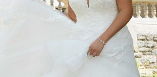 A Classic Yet Romantic Ballgown
