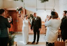 A Charlie Brear Bride and her Natural, Seasonal, Local and Homegrown Inspired Foodie Wedding at River Cottage in Devon