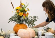 Set The Table With A Fall Pumpkin Tablescape