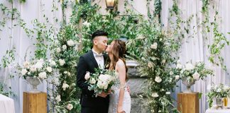 French Courtyard Inspired Wedding With 20 Guests ⋆ Ruffled