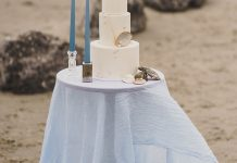 Beach Styled Wedding Shoot - Cove Cake Design