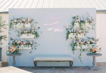 A Pastel Farm Wedding With Whimsical Details and Mini Horses