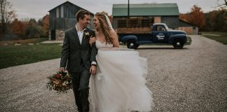 Gloriously Romantic Heritage View Barn Elopement