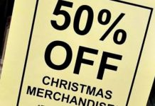 How To Use Christmas Clearance To Save On Your Wedding