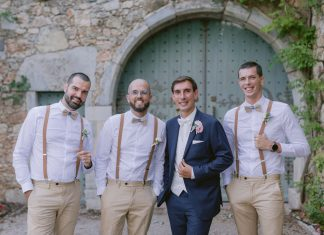 A Rustic French Wedding (In Sneakers)