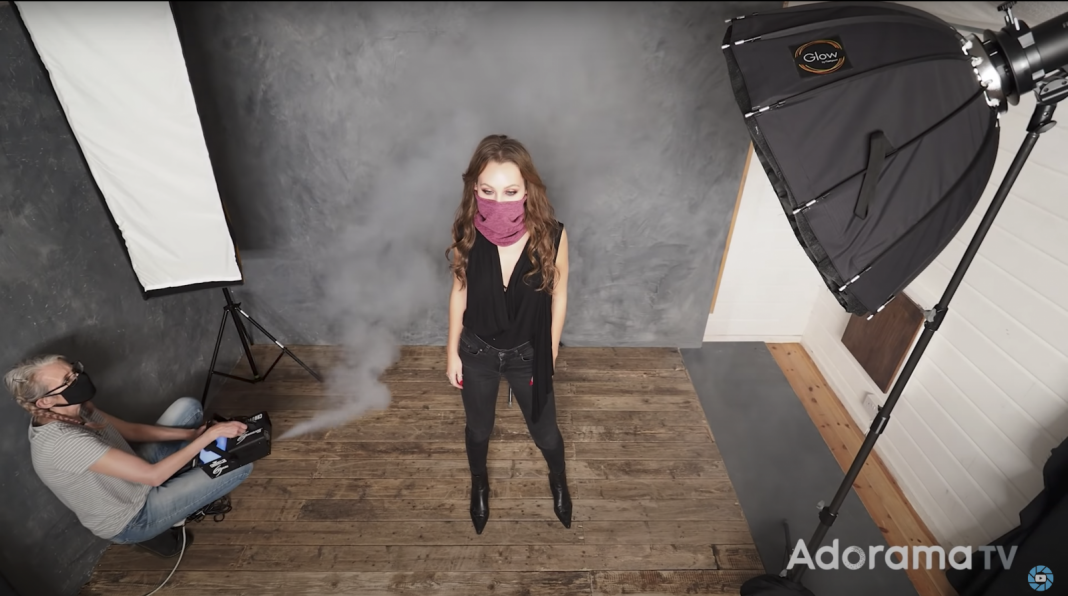 Make Face-Mask Photos Compelling: Focus on The Eyes