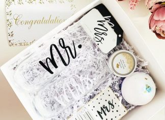 Ideas for product in engagement gift boxes